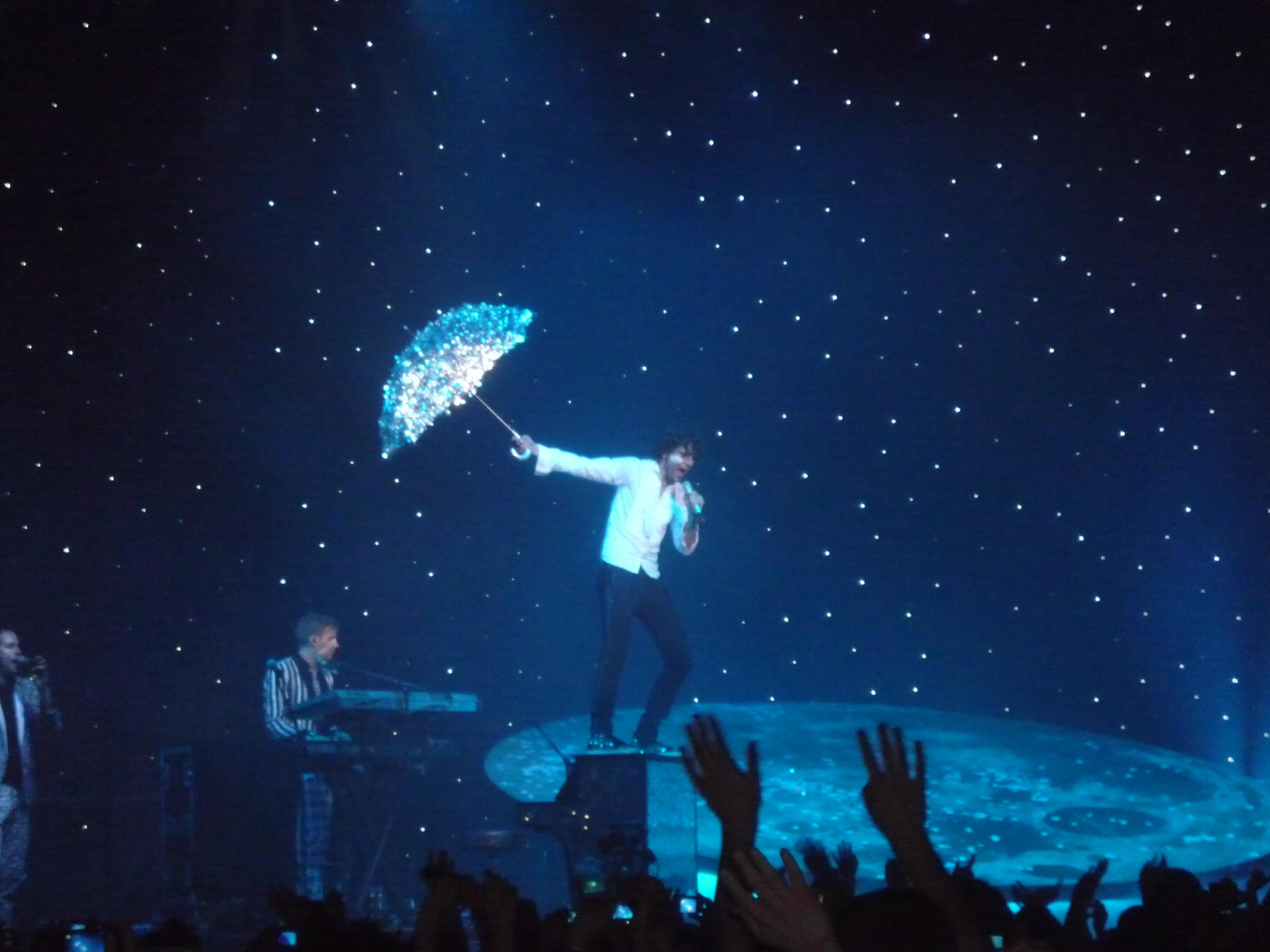 parapluie argenté pour Rain